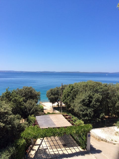 Amazing sea view - 20 m from the sea!