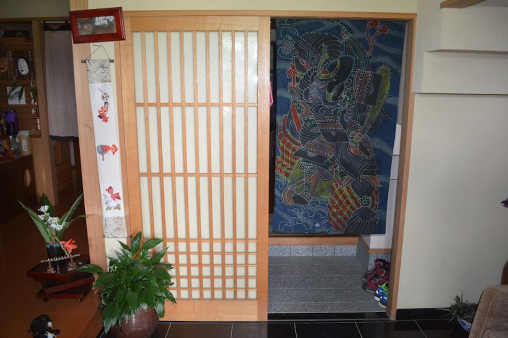 You can enjoy to see Japanese cloth