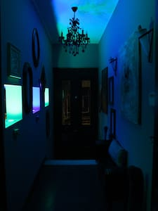 Remus-Art Hostel  room *Blue Note* - Colonia Del Sacramento - Aamiaismajoitus