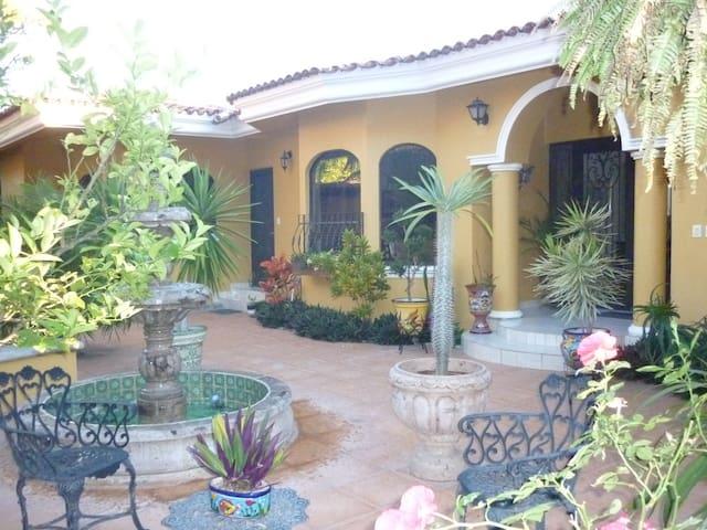 Main Entrance/Courtyard