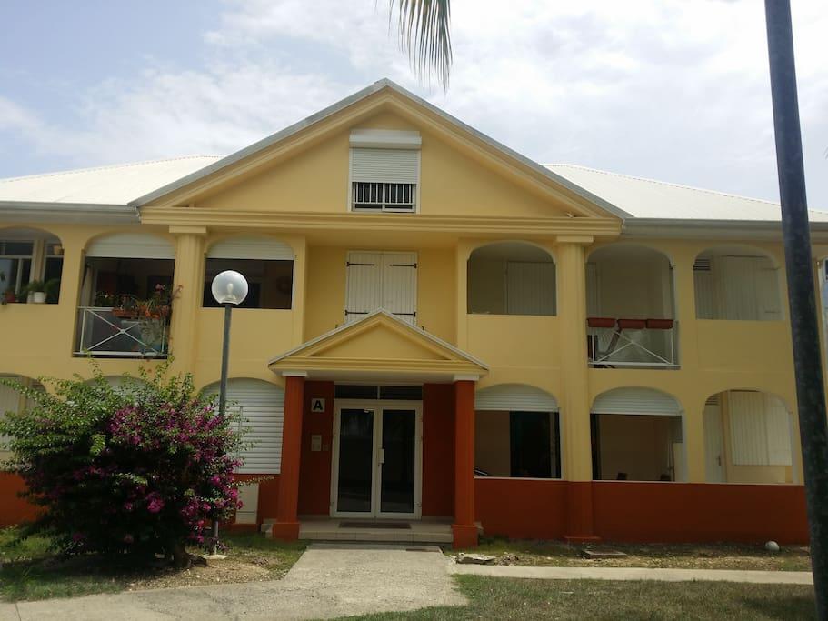 Ici la résidence où vous séjournerez