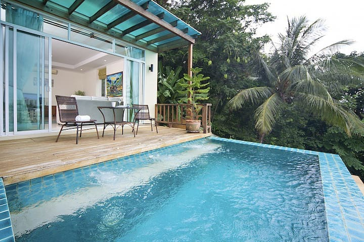 3 BR Villa Sea View. Karon beach - Karon - Haus