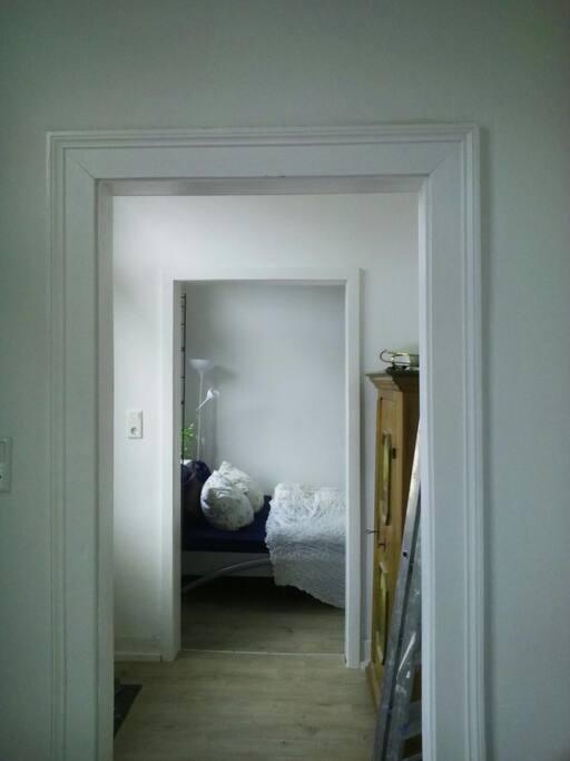 Zimmer Ansicht von der Toilette
