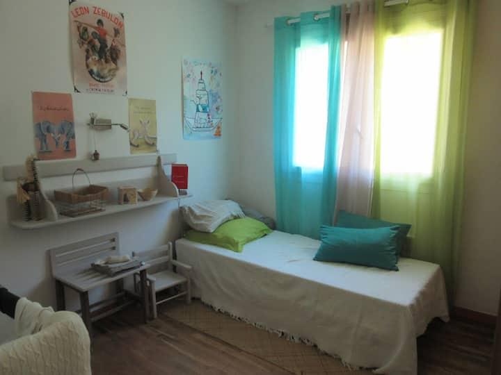 Chambre 2 lits proche de Le Touquet