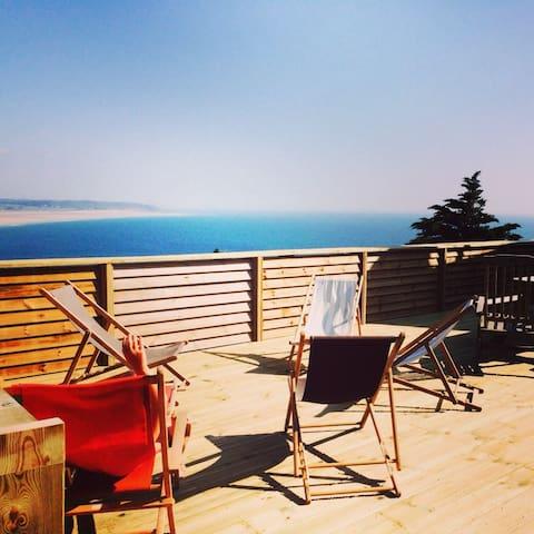 Maison de charme magnifique vue mer - Flamanville