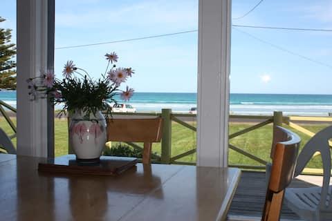 Seaside Cottage, on beachfront.