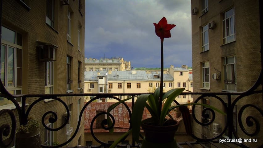 Gorky Street, Pushkin and Kremlin - Moskva - Appartement