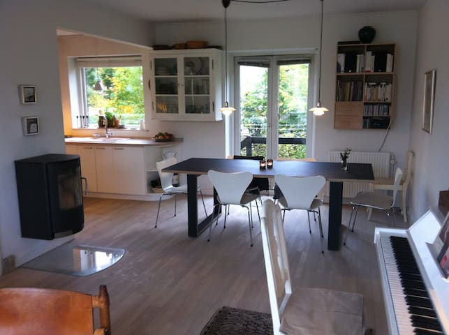 15 min. from Copenhagen, in nature! - Lyngby - House