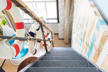 欢乐谷loft生活的万种可能性——海水水房丨Z-apartment