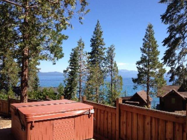 The Lake View Cabin - vrbo#745122 - Tahoma - Stuga