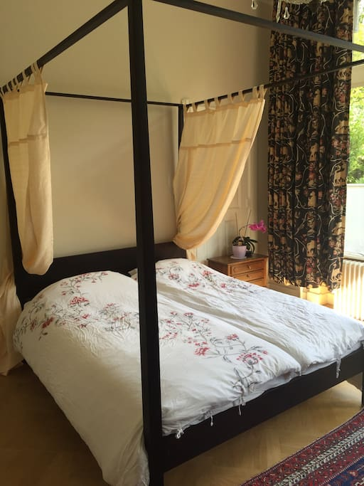 Romantic canopy  confortable bed