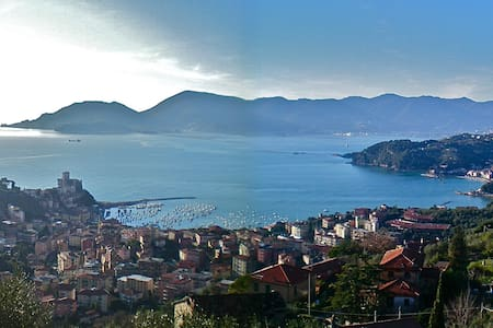 Stunning view on Poets' Gulf - Lerici - Διαμέρισμα
