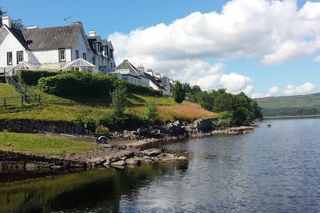 Lochside apartments on Loch Awe - Portsonachan