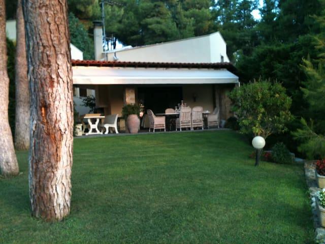 Sani resort. Stavronikita villas - Sani, Chalkidiki