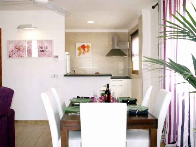 Apartment 3 minutes from the beach - Can Picafort - Flat