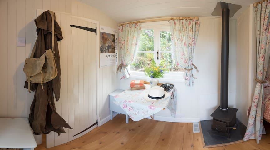 Lovely Dartmoor Shepherd's Hut B&B - Aish - Hut