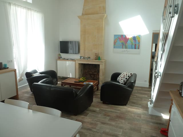 2 bedrooms in small village PARKING - Cézac - Haus