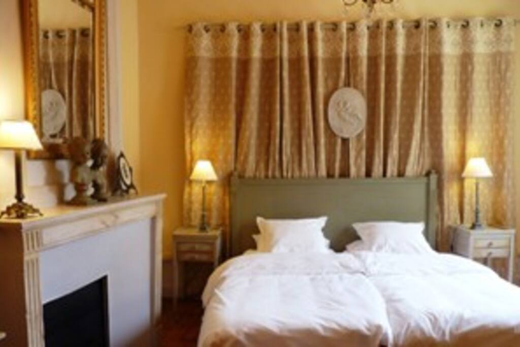 Chambre 1 ,suite Chateaubriand