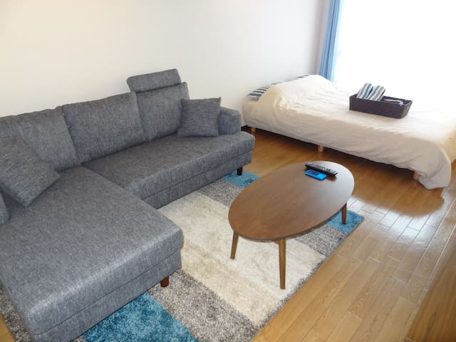 6min Walk from Kyoto station Fabulous Tower View!! - 京都市 - Appartement