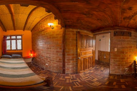 Room with shared bathroom - Pululahua Geobotanical Reserve, Ecuador