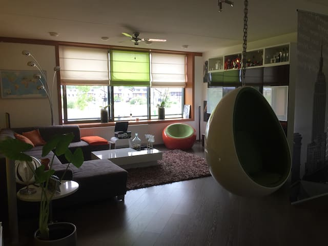 Spacious apartment near Amsterdam - Uithoorn - Apartamento