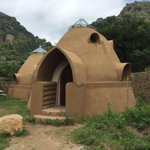 Cabaña/Colmena,2 cuartos y tapancos - Amatlán de Quetzalcóatl - Houten huisje