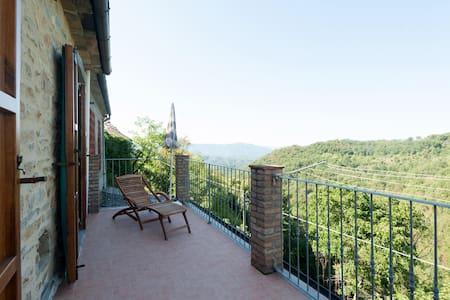 Splendida casa con vista panoramica - Paretola - Hus