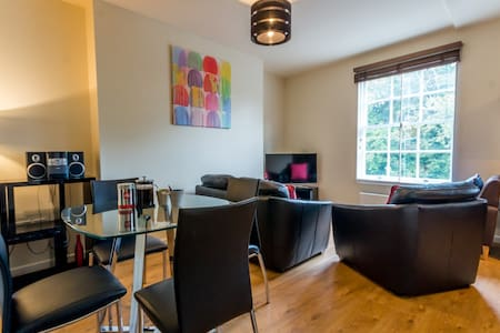 2 bed city centre apt with parking - York - Apartment