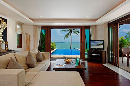 Luxury Beach Front Pool Villa 2 Bed - Phuket - Villa