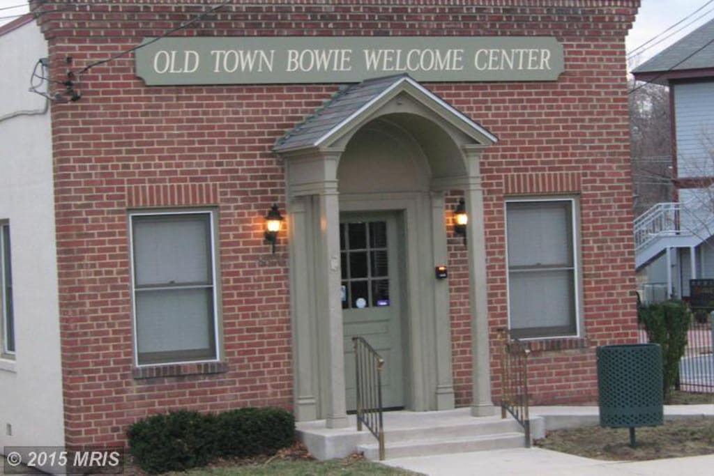 Old Town Bowie Welcome Center!