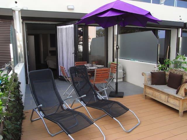 appartement avec une chambre - Algajola - Byt