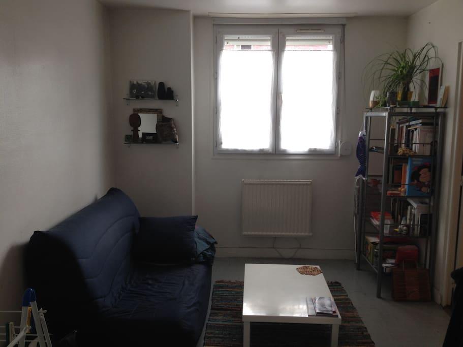 salon canapé lit 2 places