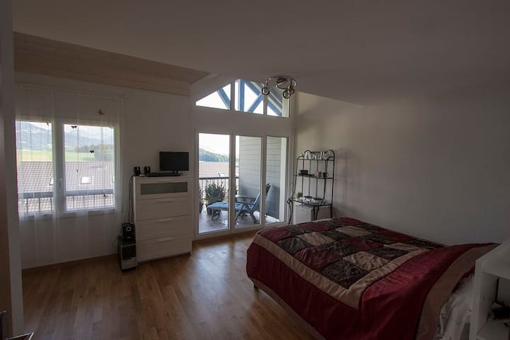 Spacious room with terrace - Saint-Martin - Ev