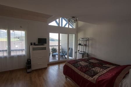 Spacious room with terrace - Saint-Martin - Hus