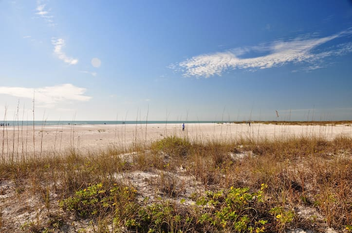 LIDO KEY: Walk to beach/St Armand-affordable