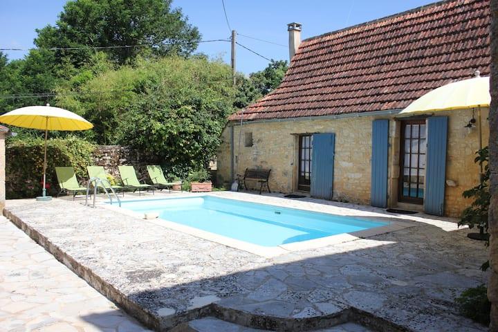 Gîte La Boria 2 personnes, piscine privée