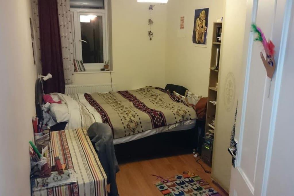 Your bedroom!