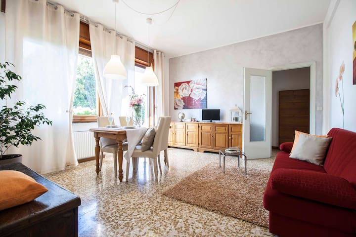 SUNNY and ENTIRE APARTMENT on LAKE COMO!