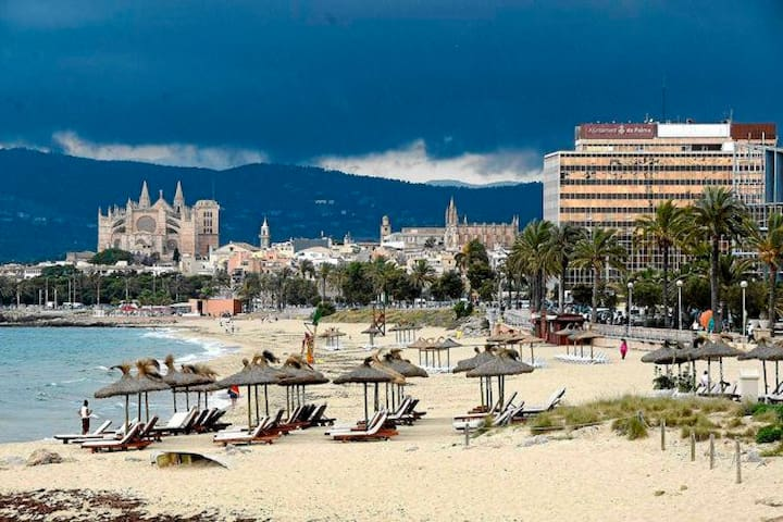 Double room near the beach and center of Palma - Palma