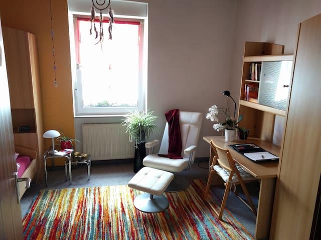 Gemütliches Zimmer mit eigenem Bad und Küche - Karlsruhe - Apartamento
