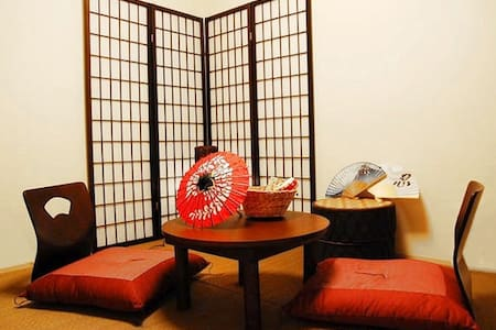 5min Kyoto stnFree wifi Tatami room - Kyoto