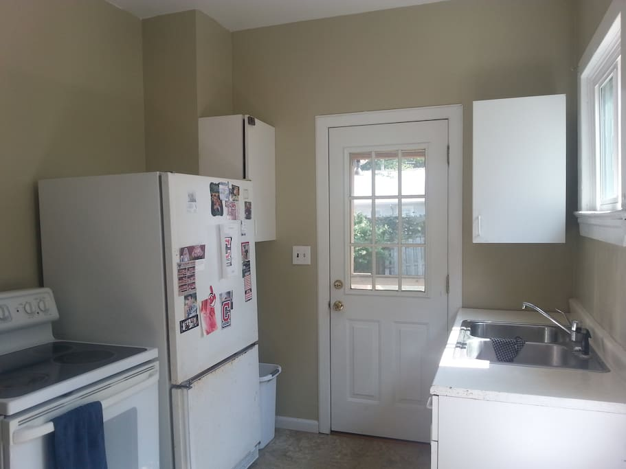Current kitchen - updates will be ready by Summer 2016!