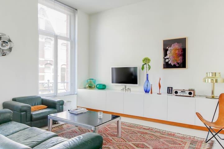 flatscreen, audio and apple TV