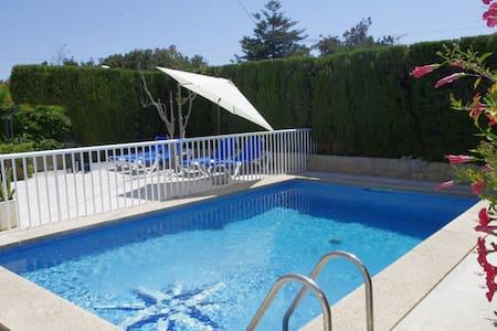 Chalet piscina a 5´ andando playa - cala millor -Son Servera - Dom