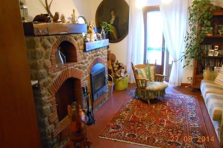 accogliente terratetto in pietra - Prunetta - Huis