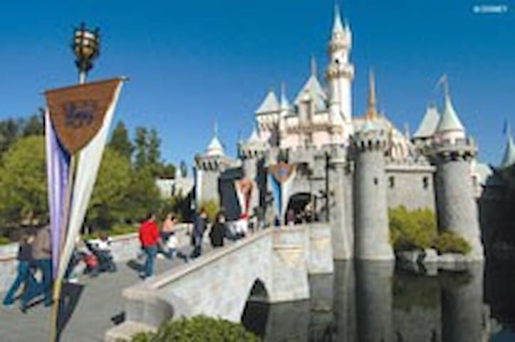 Magic Castle at Disneyland
