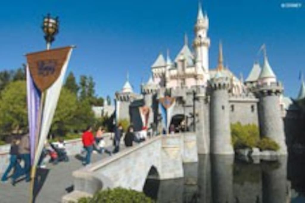 Magic Castle at Disneyland