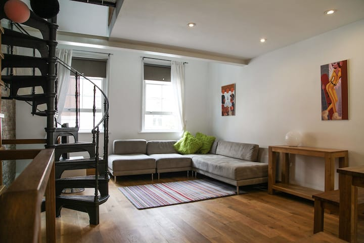 Funky London city apartment