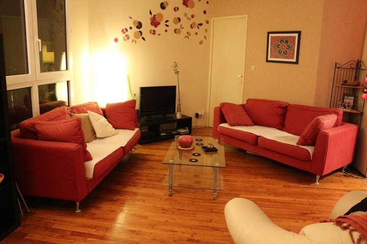 Cosy bedroom 2mn away from the railway station - Lyon - Apartment