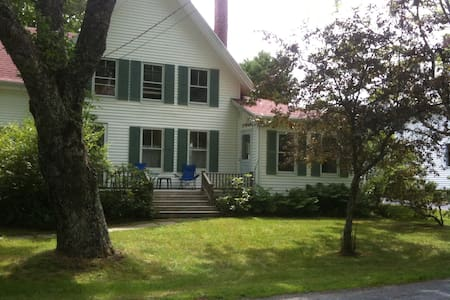 Maine Farmhouse near Ocean - New Harbor - Rumah